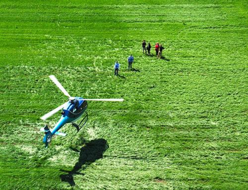 helikoptervlucht Blaricum Koningsdag