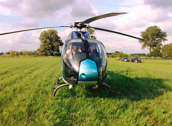 helikoptervlucht 1 persoon zakelijk
