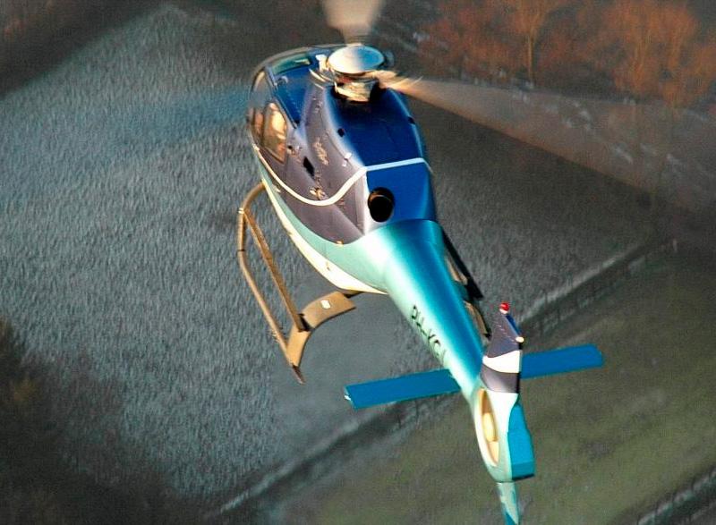 helikoptervlucht voor 30 minuten