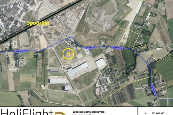 Barneveld helikoptervlucht